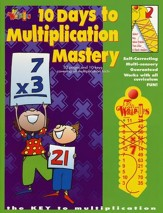 10 Days to Multiplication Mastery with Wrap-Ups & CD