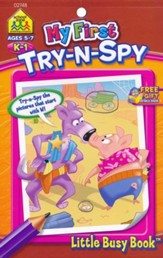 My First Try N Spy Grades K-1