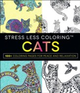 Stress Less Coloring - Cats