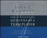 The 17 Essential Qualities of a Team Player: Becoming the Kind of Person Every Team Wants - abridged audio book on CD