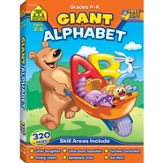Giant Alphabet Workbook Ages 3-6