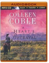 Heart's Betrayal, A - unabridged audio book on MP3-CD