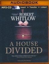 A House Divided - unabridged audio book on MP3-CD
