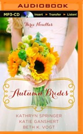 Autumn Brides: A Year of Weddings Novella Collection - unabridged audio book on MP3-CD