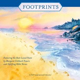 2017 Footprints Wall Calendar
