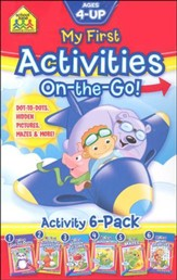 On-the-Go!: My First Activities 6-Pack
