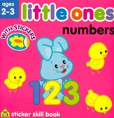 Little Ones Numbers Workbook