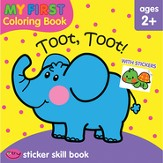My First Coloring Book: Toot, Toot! Workbook