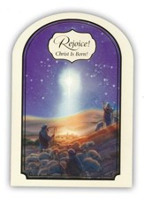 Rejoice, Christ is Born Cards, Box of 18