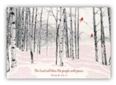 Lord Will Bless His People Cards, Box of 18