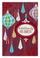 Celebrating His Birth Cards, Box of 18