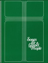 Songs for a Gospel People: Words & Music Large Print