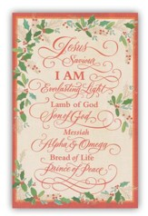 Jesus Saviour Cards, Box of 18