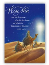 Wisemen Cards, Box of 18