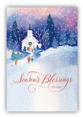 Season's Blessings to You Cards, Box of 18