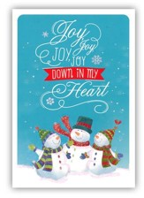 Joy, Joy, Joy Cards, Box of 18