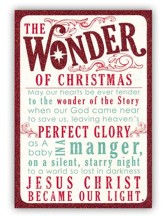 The Wonder of Christmas Cards, Box of 18