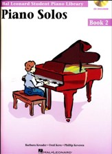 Piano Solos-Book 2 (Book/Enhanced CD Pack)