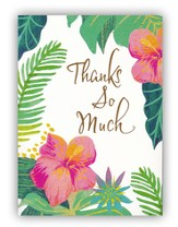 Tropical, Thanks Note Cards, Pack of 10