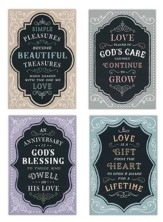 Anniversary, Chalkboard Cards, Box of 12