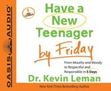 Have a New Teenager by Friday Unabridged Audiobook on CD