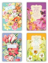 Nature's Blessings, Get Well Cards, Box of 12