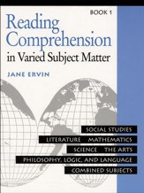 Reading Comprehension in Varied Subject Matter Book 1, Grade 3