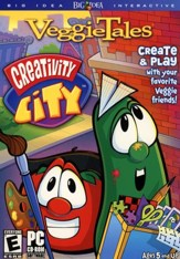 VeggieTales Creativity City CD-ROM