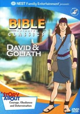 Animated Bible Classics: David and Goliath, DVD  - Slightly Imperfect