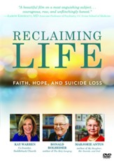 Reclaiming Life: Faith, Hope, and Suicide Loss, DVD