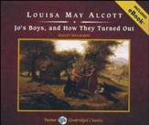 Jo's Boys, and How They Turned Out, Unabridged Audiobook on CD with eBook