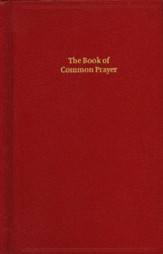 1662 Book of Common Prayer, Standard Edition- Hardcover, red