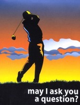 May I Ask You a Question? - Golf  Pack of 25