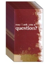 May I Ask You A Question? - Staple Free  Pack of 25