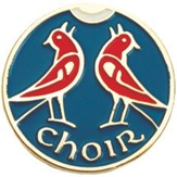 Enameled Choir Lapel Pin