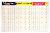 Melissa & Doug Multiplication Problems Write-a-Mat