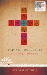 HCSB Reading God's Story: A Chronological Daily Bible, Paperback