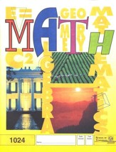 Latest Edition Math PACE 1024, Grade 2