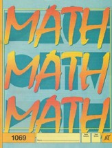 Latest Edition Math PACE 1069, Grade 6