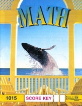 Latest Edition Math PACE SCORE Key 1015, Grade 2