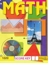 Latest Edition Math PACE SCORE Key 1020, Grade 2