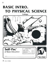 Introduction To Physical Science PACE 3, Grades 9-12