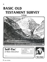 Old Testament Survey PACE 8, Grades 9-12