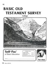Old Testament Survey PACE 10, Grades  9-12