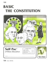 The Constitution Self-Pac 133,  Grades 9-12