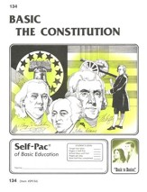 The Constitution Self-Pac 134,  Grades 9-12