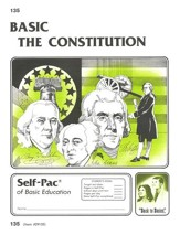 The Constitution Self-Pac 135,  Grades 9-12