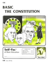 The Constitution Self-Pac 136,  Grades 9-12
