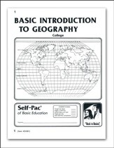 Introduction To Geography Self-Pac 1