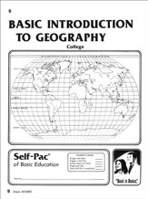 Introduction To Geography Self-Pac 9
